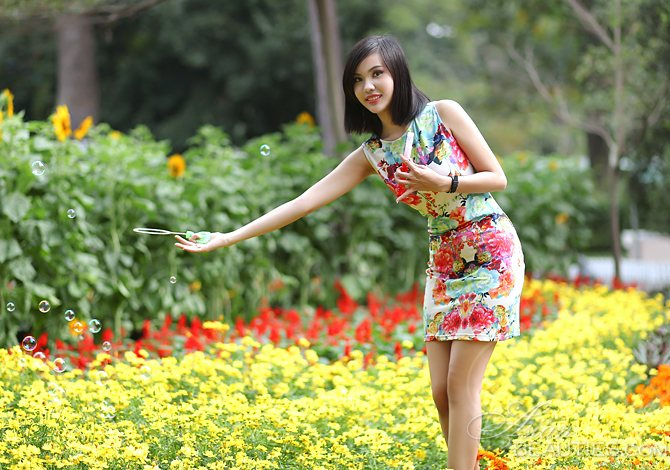 member from Vietnam: Thi Lien Phuong from Ho Chi Minh City